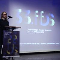Festivalleiterin Julia Scheck, Eröffnung FilmFest