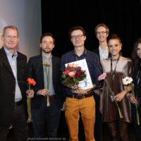 Preisverleihung: Wettbewerb um den Kurzfilmpreis. Gewinner: Sonntagabend
