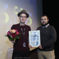 Preisverleihung: Publikumspreis für den besten Kurzfilm. Gewinner: Mascarpone