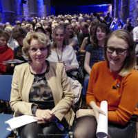 Tag 1 – Die Eröffnung des FilmFest in Lagerhalle mit Bürgermeisterin Eva-Maria Westermann und Festivalleiterin Julia Scheck