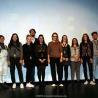 Tag 4: Das FilmFest-Team mit Leiterin Julia Scheck