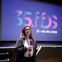 """Tag 2 – Miriam Vogt moderiert ihren Filmfest-Favoriten """"Rocks"""" an"""