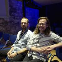 Tag 2 – Auch Erich Steiner und Stefan Wabl (Meine Träume toben) schauten sich unser Kurzfilmprogramm an