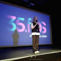 """Tag 2 – Marleen Nesner führte uns heute durch das Kurzfilmprogramm """"Preserve"""""""