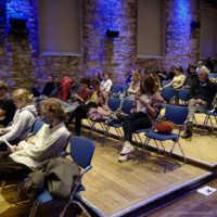 Tag 2 – Das Publikum erwartet gespannt unser heutiges Kurzfilmprogramm